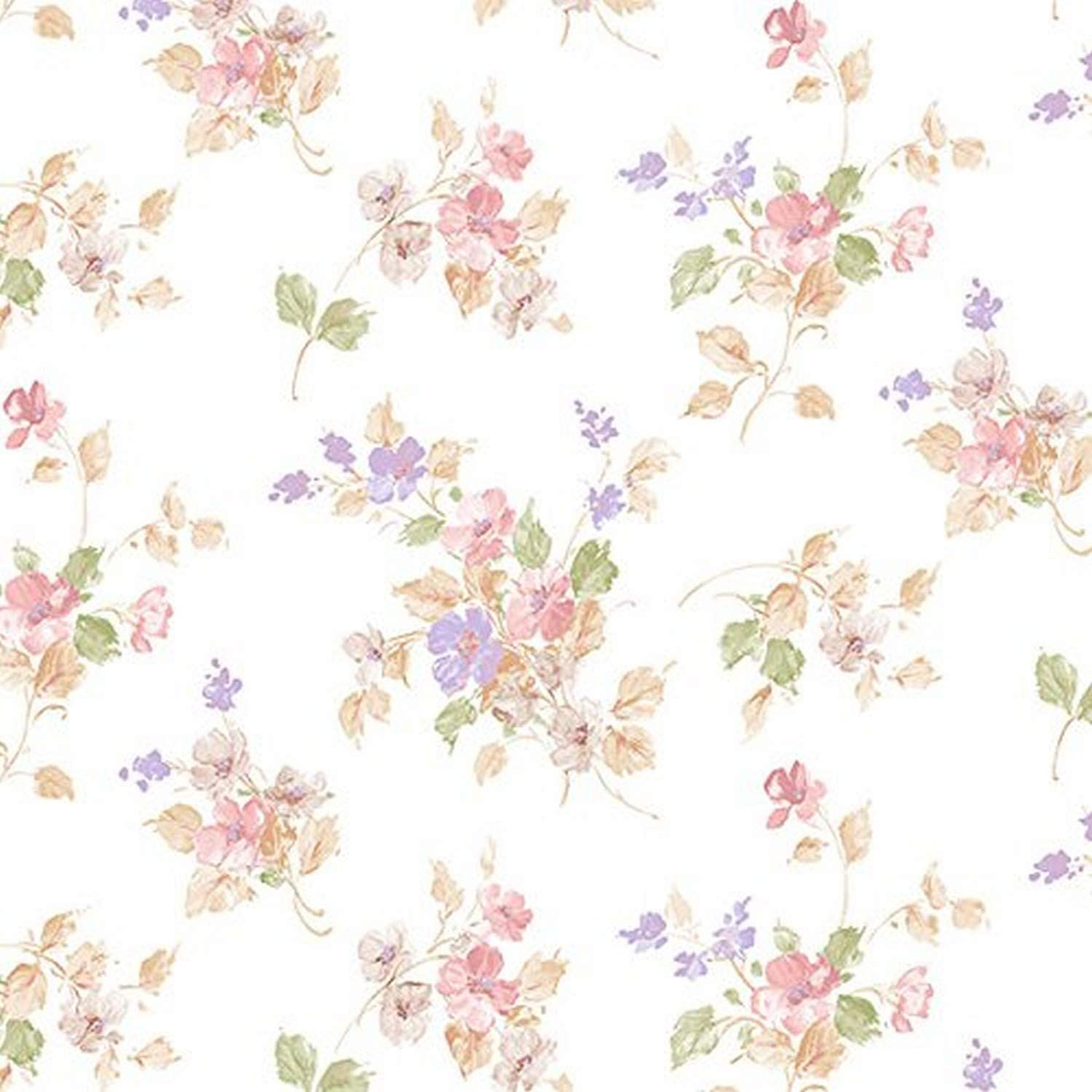 Manhattan Comfort Nwpp27747 Orlando Classic Floral Wallpaper In