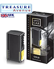 Aromatizante AREON Car Black 8 ml - Fragancia Gold