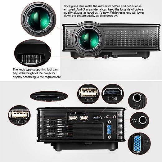 owlenz SD 50 Multimedia cine en casa Portable LCD proyector LED ...