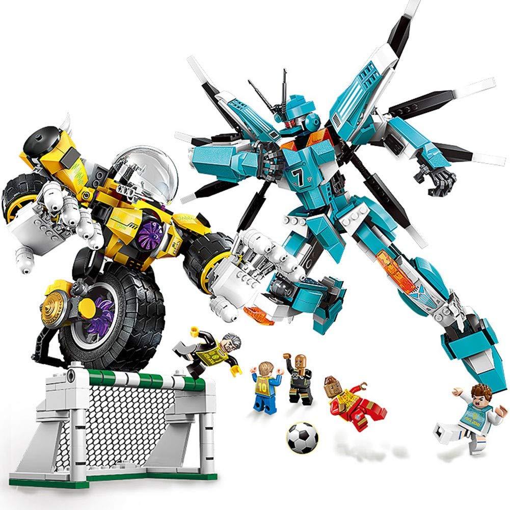 Building Blocks Toys, Child Le But De La Série De Football du Siècle D'assemblée des Garçons Est De Gagner Une Bataille De 6-12 Ans DINGX