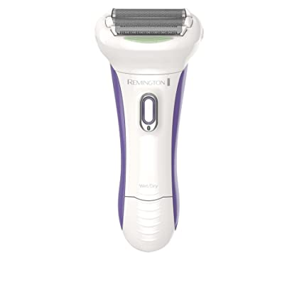 Remington WDF5030A Wet & Dry Women's Rechargeable Electric Foil Shaver, Electric Razor White/Purple