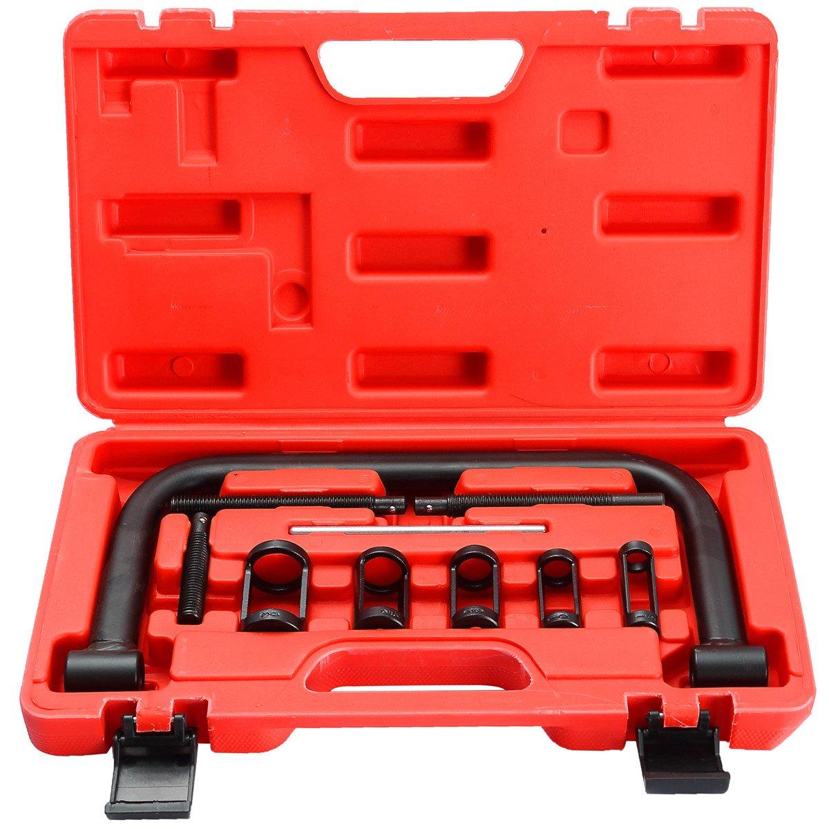 DASBET Auto Solid Valve Spring Compressor C Clamp Service Kit ZTECH AUTO