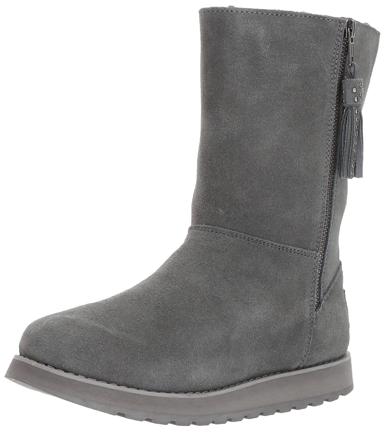 Skechers Women's Keepsakes-Mid Winter Boot, Charcoal, 6.5 M US