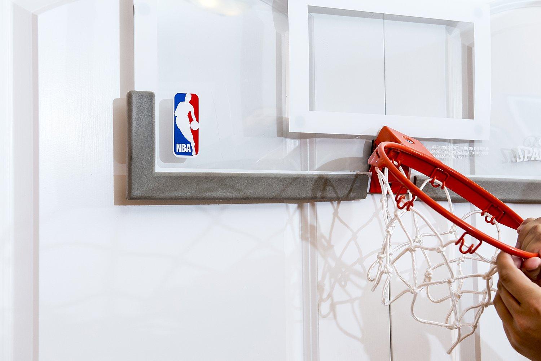 Spalding NBA 180 Breakaway Over The Door Mini Basketball Hoop   56101 U003c Basketball  Hoops U0026 Goals U003c Sports U0026 Outdoors   TIBS