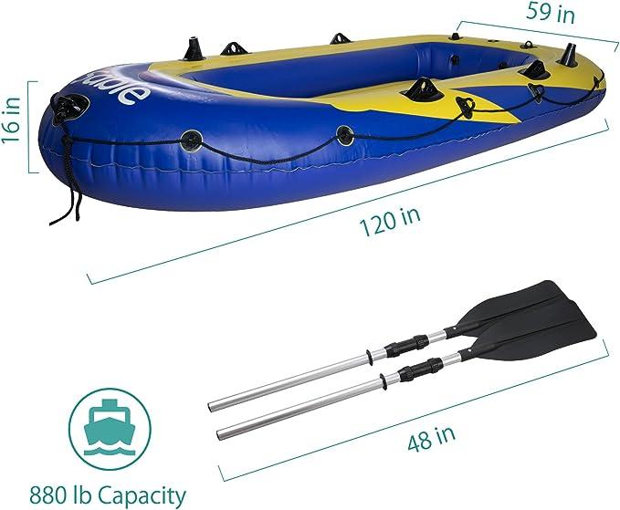Amazon.com: Sable - Juego de barcos hinchables para 4 ...