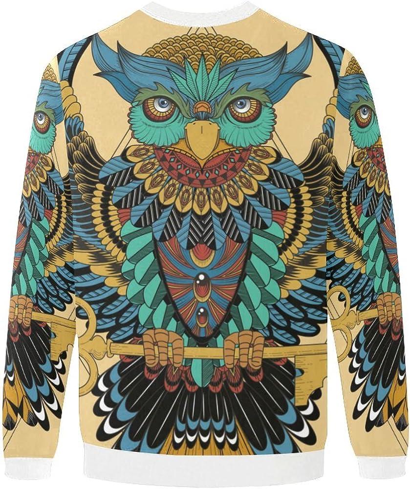 Native American Indian Art Prints Mens 3D Printed Pullover Sweatshirt S-5XL