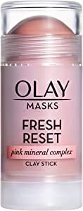 Olay Fresh Reset Pink Mineral Complex Clay Face Mask Stick, 1.7 oz