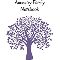 Ancestry Family Notebook: Family Tracker Workbook To Record Your Family's History Genealogy and Memories Purple