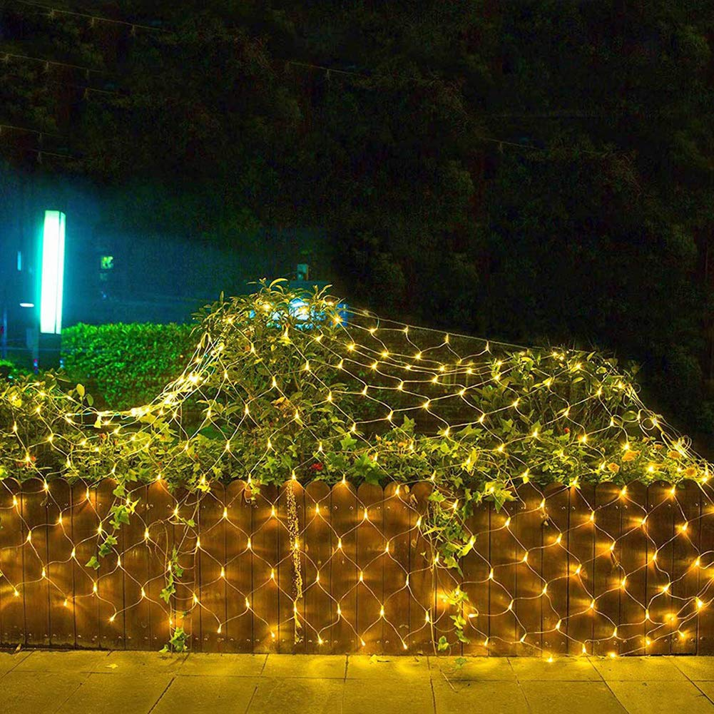 Net Fairy Lights,Net Lights,LED String Lights,Led Fairy Lights,Christmas Lights,8 Modes String Lights for Christmas Birthday Party Wedding Garden Indoor Outdoor Decorations 3M x 2M 200Leds