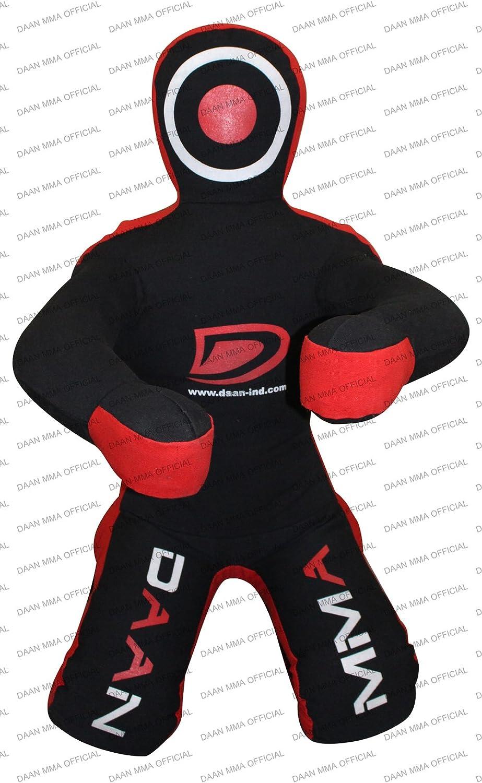 Saco de Boxeo Judo env/ío brasile/ño JIU Jitsu para amasar a la Basura sentada sin Relleno Parte Delantera DAAN MMA Grappling Dummy Manos sentadas
