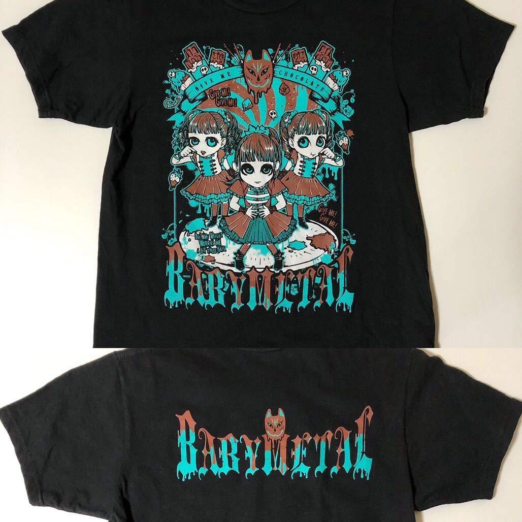 BABYMETAL ギミチョコ Tシャツ (M)   B07PXLKKXL