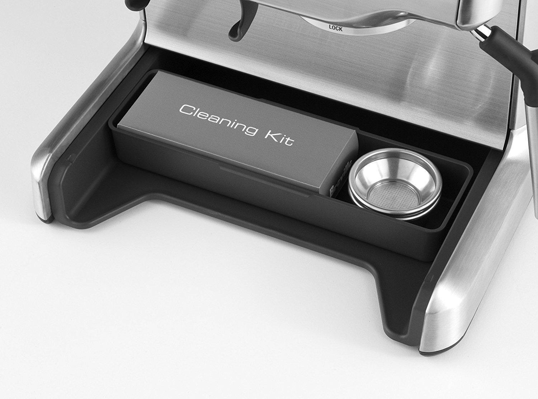 Siebträgermaschine mit integriertem Mahlwerk Sage Appliances