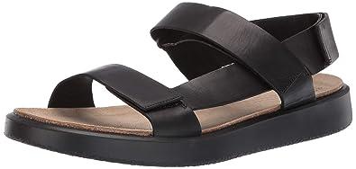 87984ce30 ECCO Men s CorkSphere Sandal Black 39 M EU (5-5.5 ...