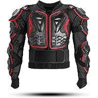KINGUARD Chaqueta de Moto Chaqueta Protectora Cuerpo Armadura Profesional de Motocicleta Protección del Cuerpo Entero…
