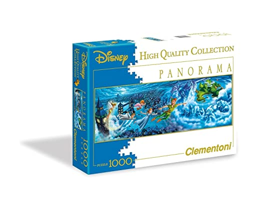 136 opinioni per Clementoni 39286- Peter Pan Night Flights Disney Panorama Puzzle, 1000 Pezzi