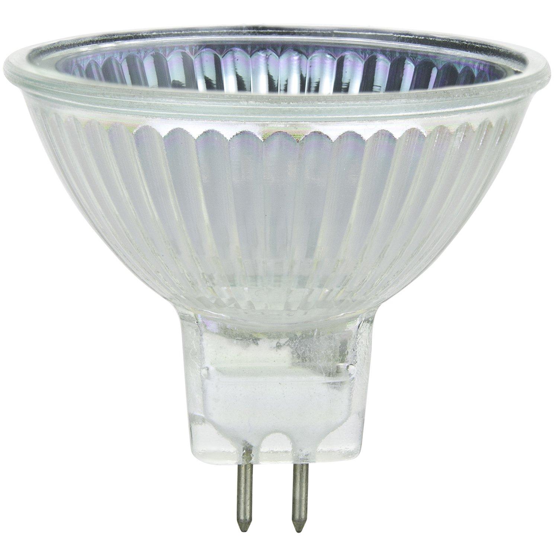 Bright White Sunlite 40708-SU 35MR16//CG//FL//12V//6PK Halogen 35W 12V Series MR16 Flood Light Bulbs GU5.3 Base 6 Pack 3200K