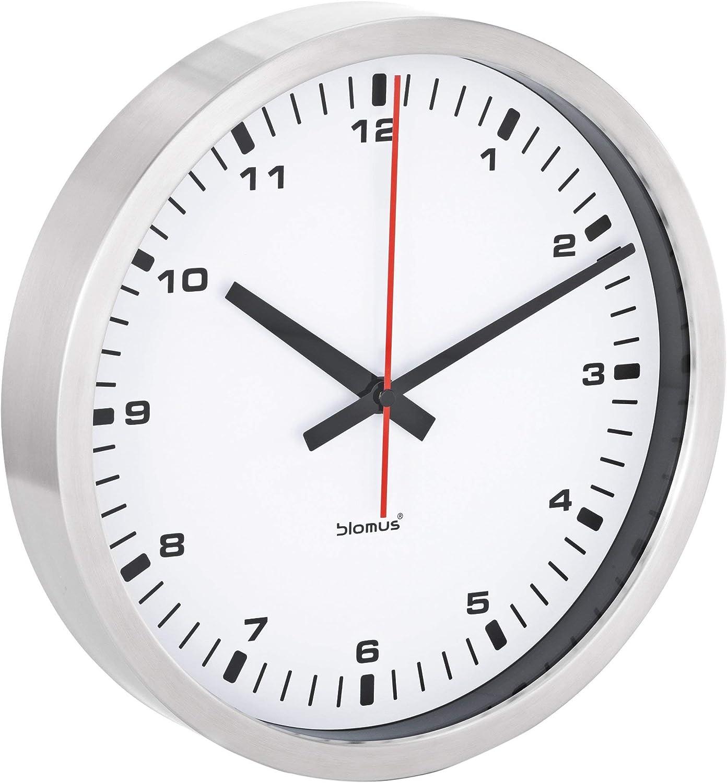 Blomus Wall Clock, White, 40 Centimeters