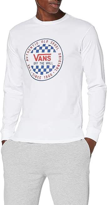 Vans OG Checker LS Camisa Manga Larga para Hombre: Amazon.es: Ropa y accesorios