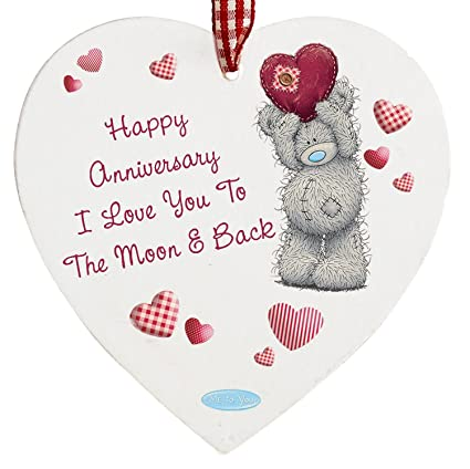 Chris Bag Of Goodies Happy Anniversary I Love You To The Moon And