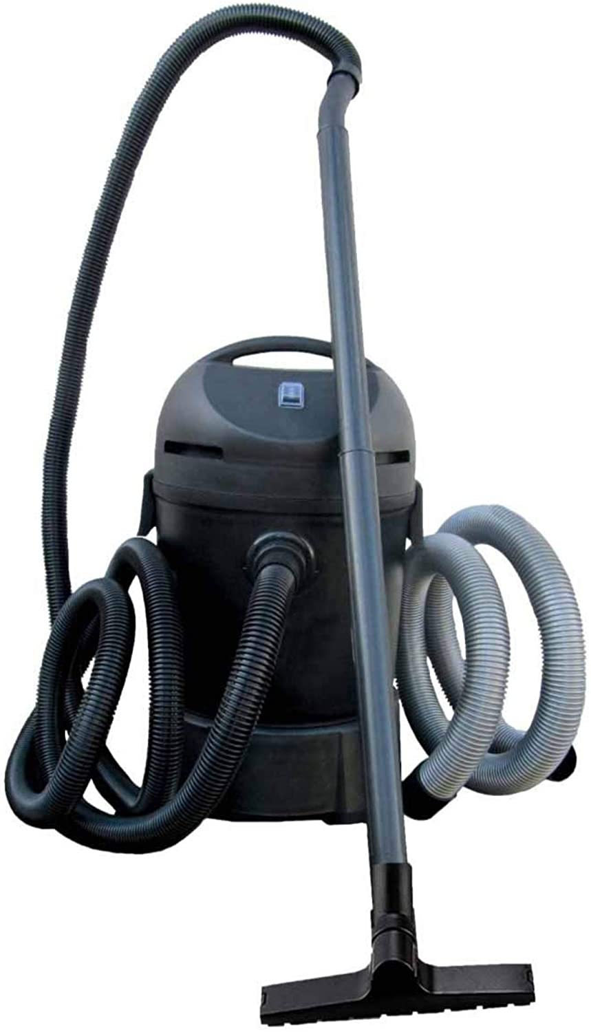 HALF OFF PONDS CleanSweep 1400 Pond Vacuum with a 13' Intake Suction Hose, 4 Extension Tubes, 3 Vacuum Nozzles, a 6.5 Foot Output Hose, and a Debris Collection Bag