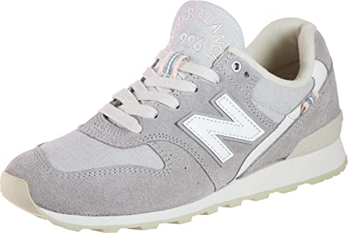 New Balance 996 Grau Suede And Mesh Trainers Damen Schuhe