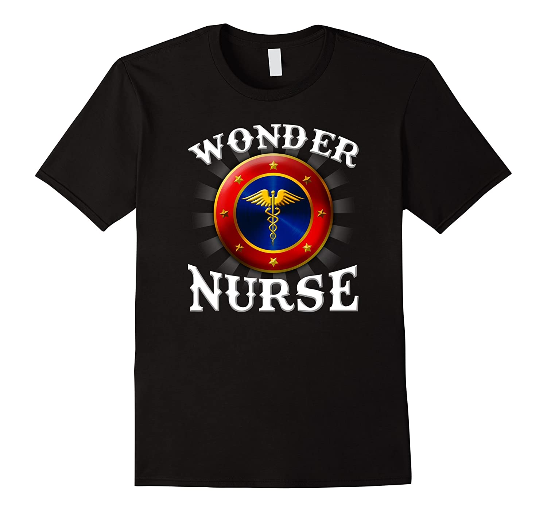 The Official WONDER NURSE Superhero T-shirt-TJ