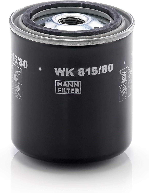 MANN-FILTER WK 815/80 Original Filtro de Combustible, para vehículos de utilidad: Amazon.es: Coche y moto