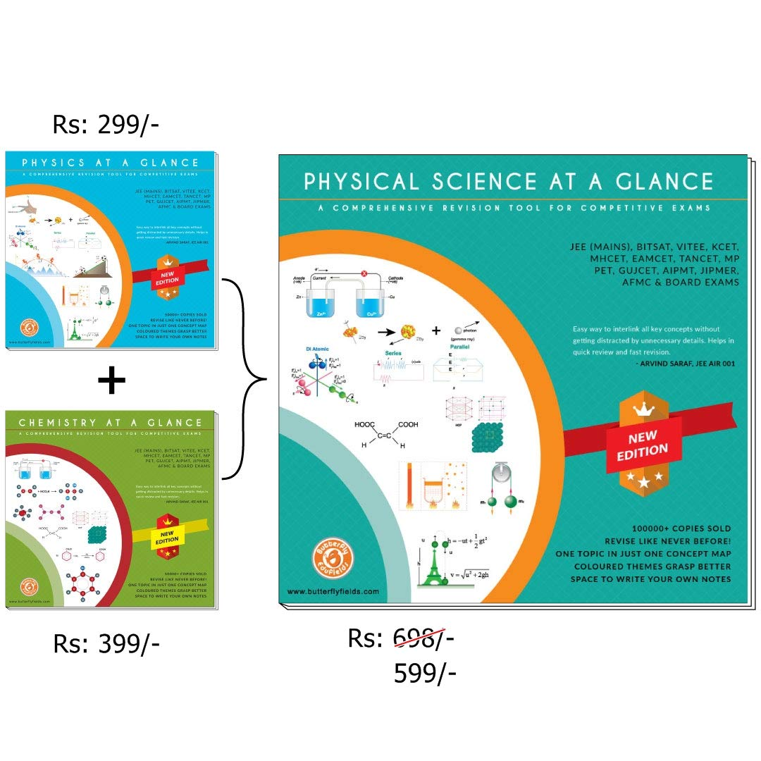 Physical Sciences Concept Map Book for NEET IIT JEE Main