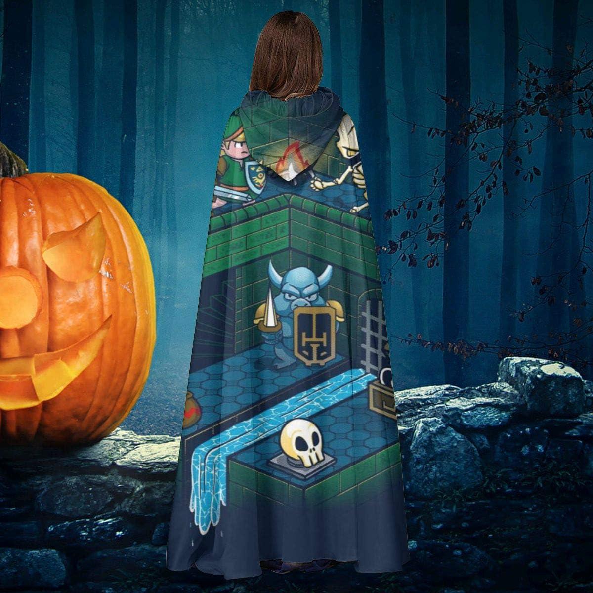 AISFGBJ Zelda Link Through The Dungeon - Capa de Disfraz Unisex ...
