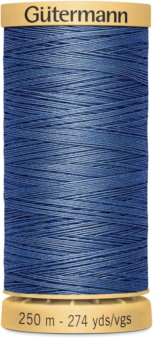 250m Colour 2074 Gutermann 100/% Cotton Thread