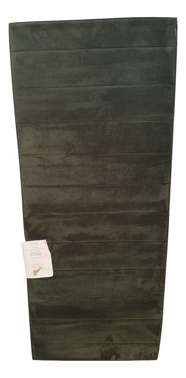 Microdry Luxus Qualität Ultimate Performance Memory Foam groß Größe Läufer Matte, ca. 61 x 147 cm, dunkel grün Farbe.