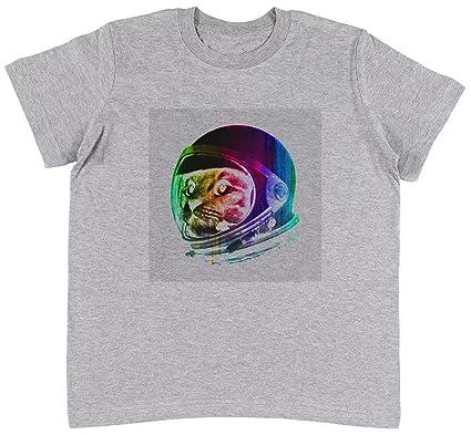 Jergley Astronauta Gato Unisexo Niños Gris Camiseta Niño Niña ...