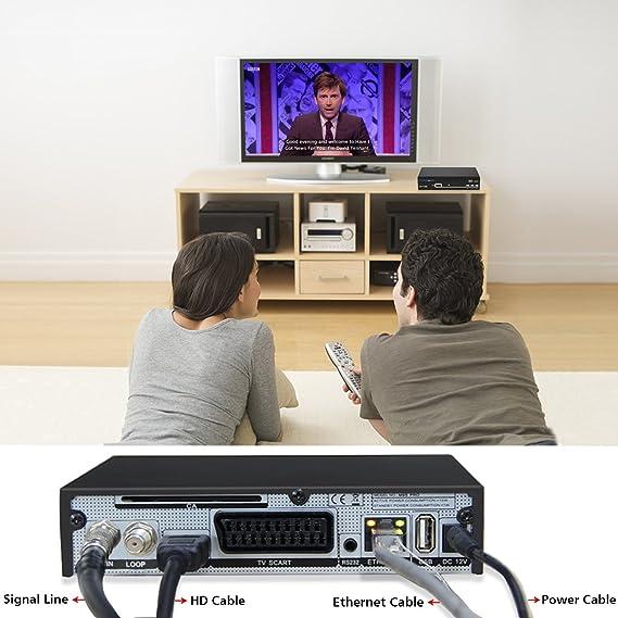 Freesat V8 Súper Receptor Satélite Digital Decodificador DVB-S2, Full HD 1080P, Antena WiFi Not Incluido: Amazon.es: Electrónica