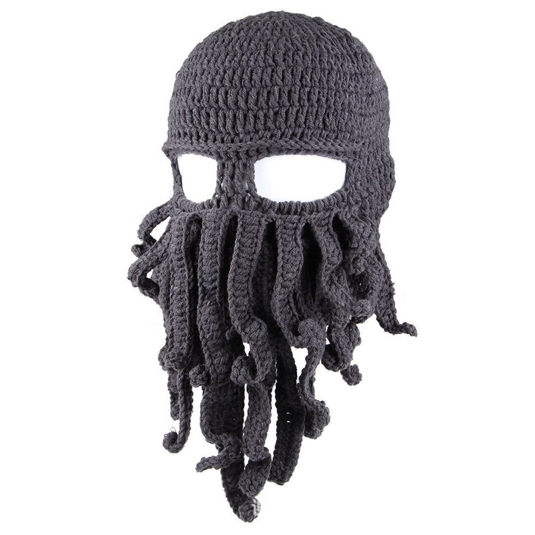 Amazon Tentacle Octopus Face Mask Winter Warm Knitted Squid