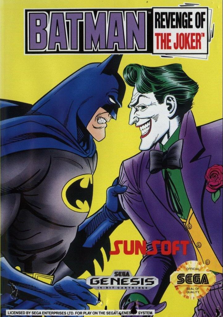 Batman: Revenge of the Joker - Sega Genesis