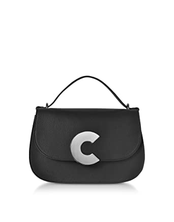 8b5a26d045a7 Amazon.com: Coccinelle Women's E1cn5120201001 Black Leather Handbag ...