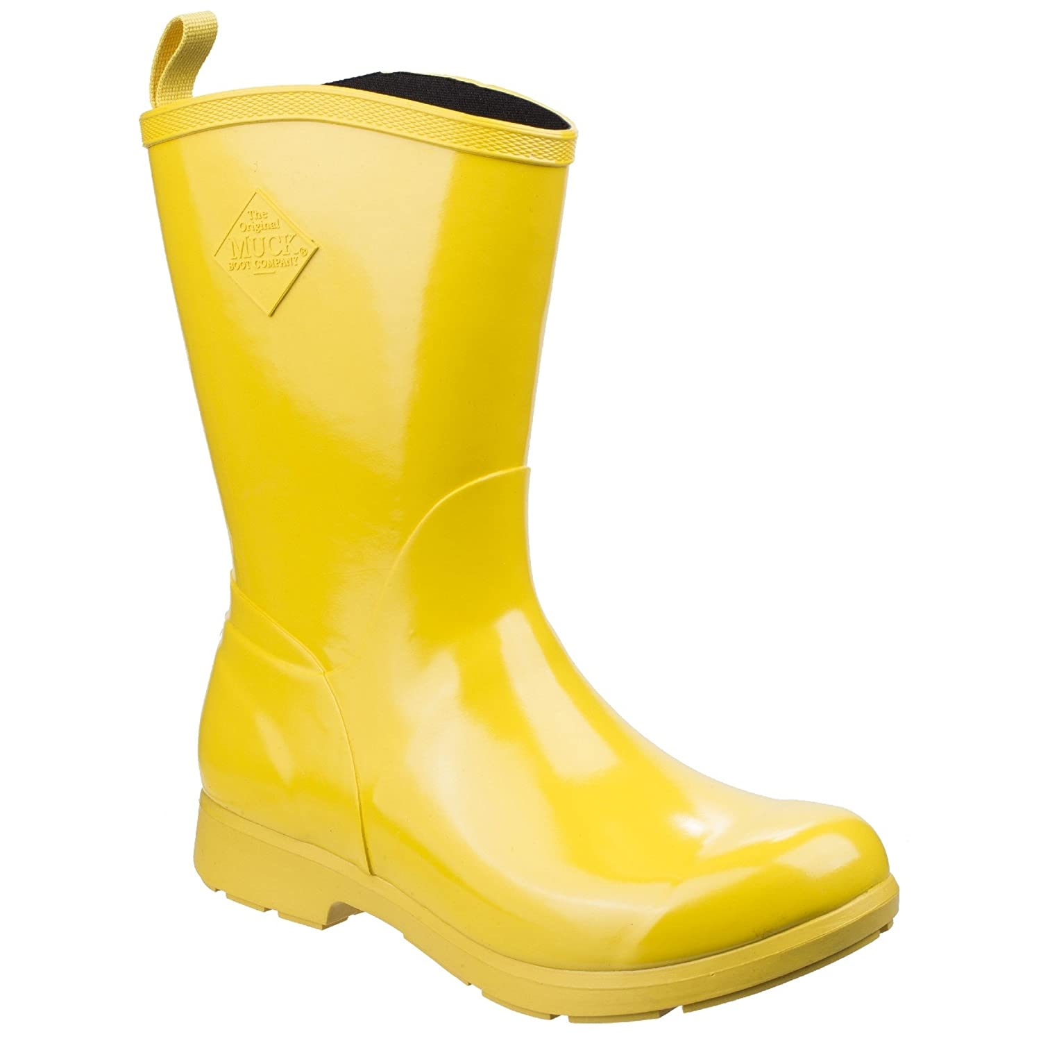 Muck Boot Womens/Ladies Bergen Mid Lightweight Rain Boots B07CQSSZ4C 7 M US|Yellow