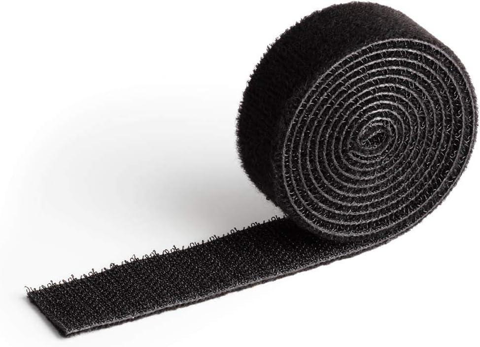100 x 2 cm Durable 503201 Atadura de cable con velcro Cavoline Grip 20 L x W negro