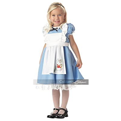 Lil' Alice in Wonderland Child Costume (Ages 4-6): Toys & Games