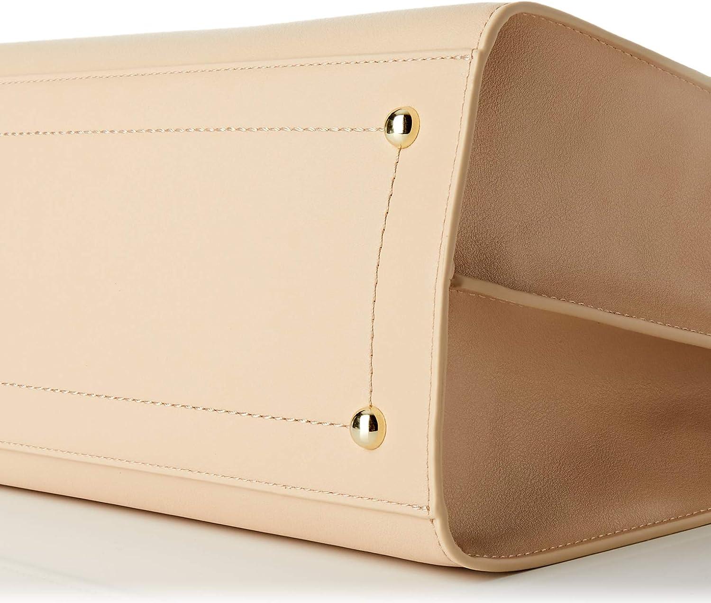 Trussardi Jeans Handbag, AMSTERDAM TOP HANDLE MD MONOCO Donna, NR Sand