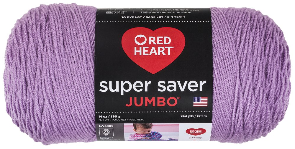 Red Heart Super Saver Jumbo Yarn, Coffee E302B.0365