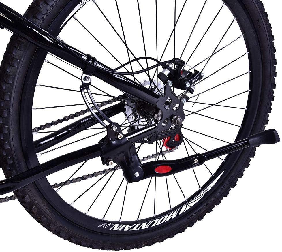 Bicycle Kickstand Mountain Bike MTB Side Rear Kick Stand Fit 26-28inch Wheel