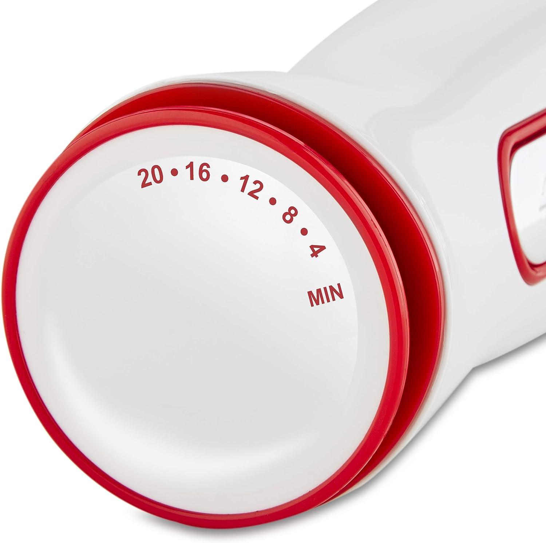 Accesorio picador Dise/ño antisalpicaduras Vaso medidor Batidor emulsionador Batir Mezclar y Emulsionar Di4 QuattroMix 600 Picar 600W Batidora de varilla Funci/ón Turbo 20 velocidades