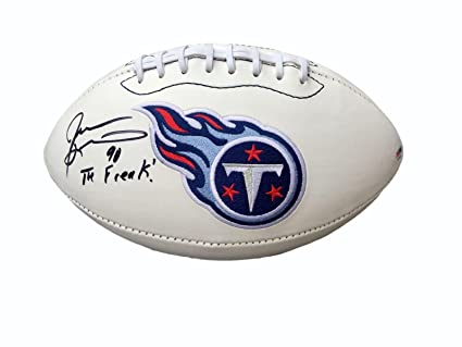 Jevon Kearse Autographed Football - The Freak Logo - PSA DNA Certified -  Autographed Footballs 0452ac316