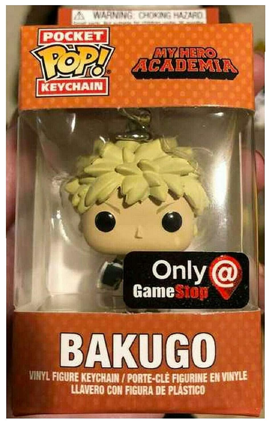 Funko Pocket Pop! Bakugo Keychain Keyring Exclusive