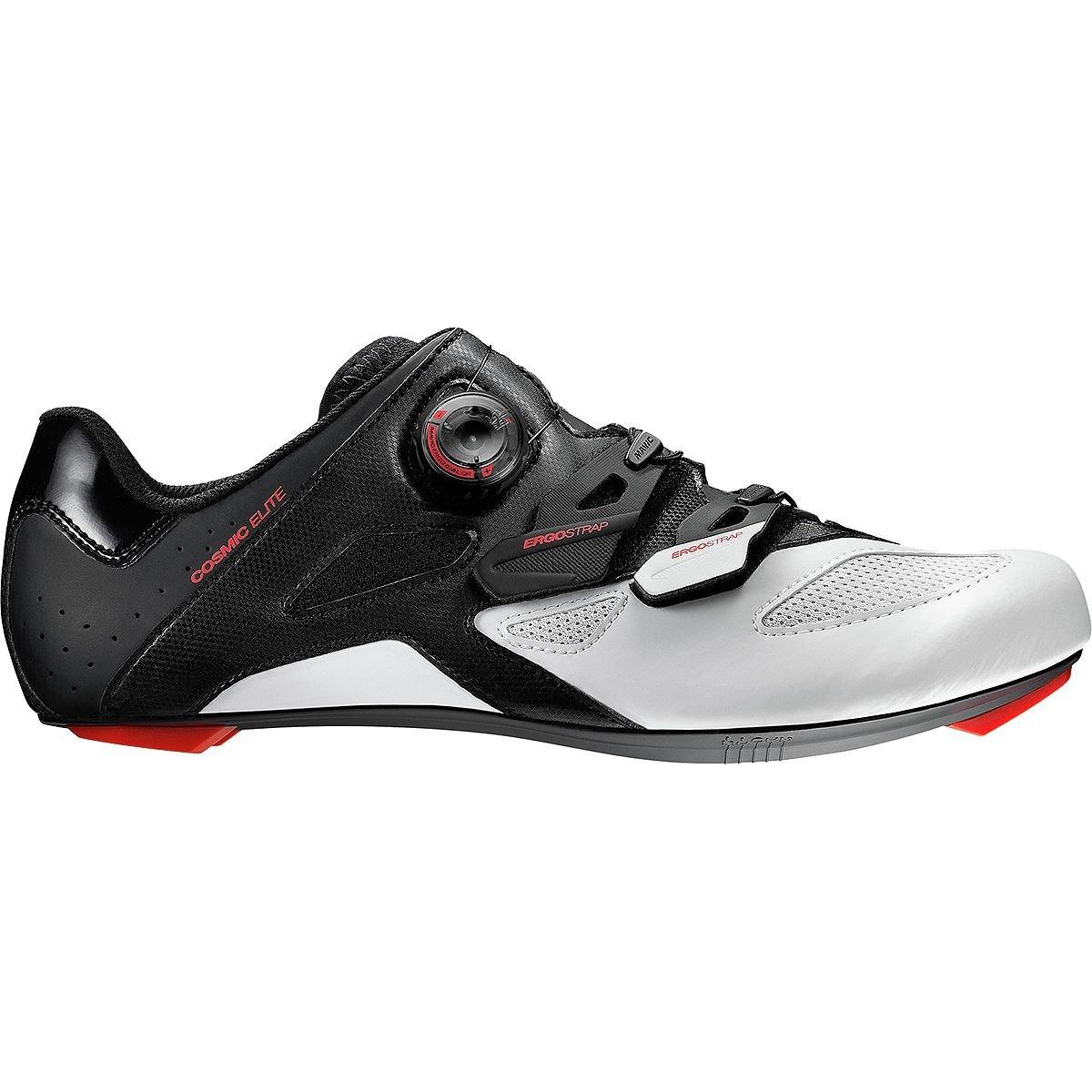 Mavic Cosmic Elite Cycling Shoes – Men 's B01M1RRXSP 12 D(M) US Black/White/Fiery Red