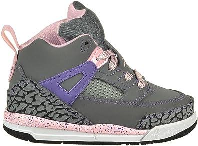 Amazon.com | Jordan Spizike (TD) Girls Baby Toddler Shoes Grey ...