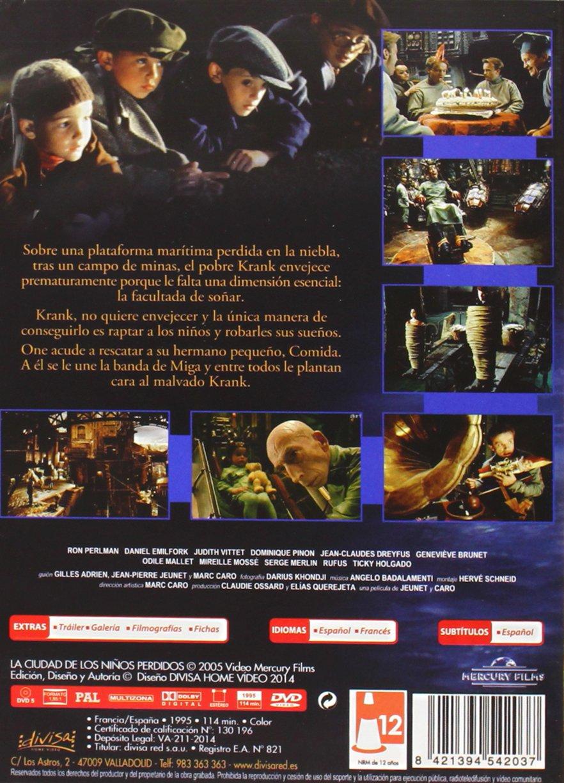 La ciudad de los niños perdidos [DVD]: Amazon.es: Ron ...