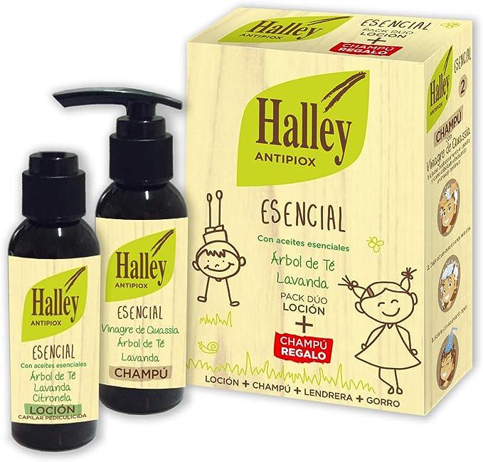 HALLEY Antipiox Tratamiento Antipiojos | Pack Loción 100ml + ...
