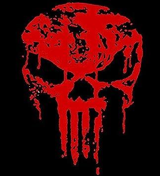 Myrockshirt Punisher Blut Zerstört 20 Cm Aufkleber Für Auto Scheibe Lack Wand Wandtattoo Aus Hochleistungsfolie Für Alle Glatten Flächen Autoaufkleber Tuning Decal Sticker Auto
